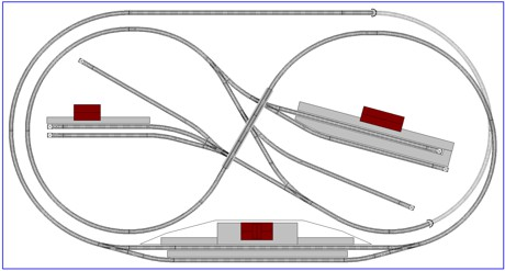 Жд макеты и схемы путей с рельсовый набор fleischmann различные.