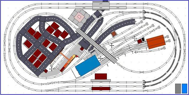 Compact Ho Track Plan Feat  Figure  U0026quot 8 U0026quot