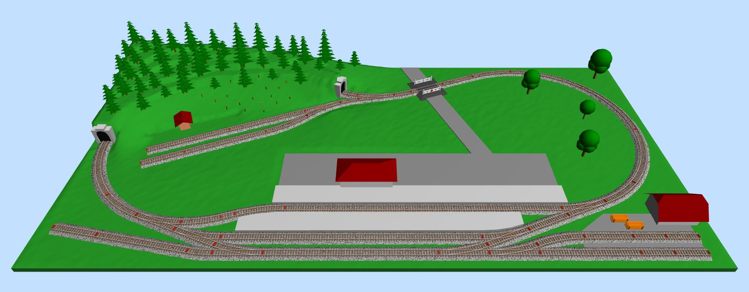 2 x 3 n scale track plans ho