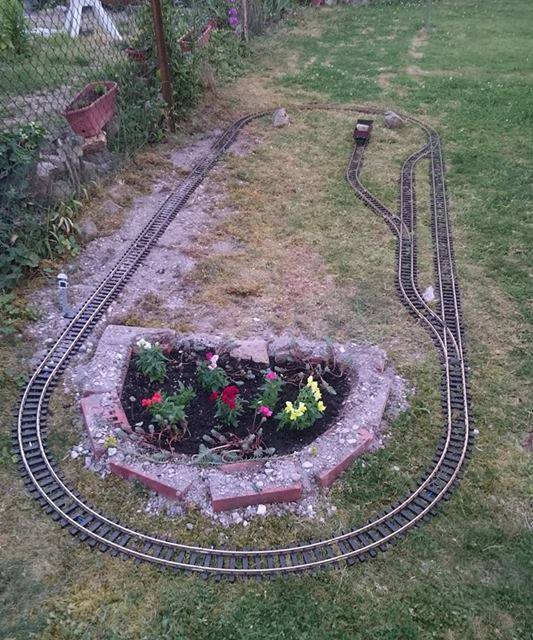 Small Garden Layout With Piko G Scale Тracks