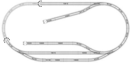 trackplan with Track Plans on 1950 Monaco Grand Prix furthermore Atlas N80 additionally 339872 Model Train Track Templates furthermore Atlas Ho further Waterbury Vermonts Historic Railroad Station.