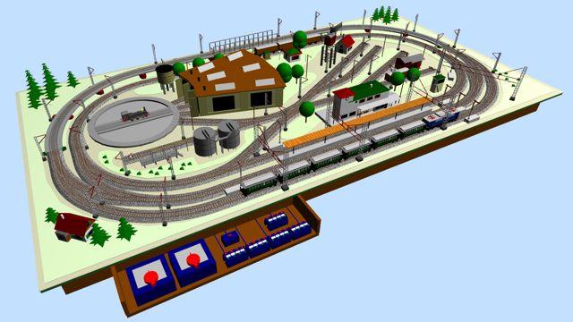 Nostalgic Marklin Ho M Track Layout